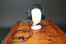 Racal Acoustics Jetgard Aircraft Pilot Headset With Microphone & PTT Switch