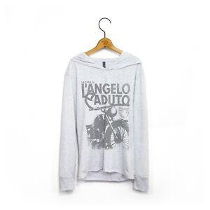 Men's 'L'Angelo Caduto' House Of Fallen Angels Long-Sleeve Hooded T-Shirt