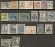 Portugal pre-1930 mint hi val selection 21 diff stamps cv $60.40