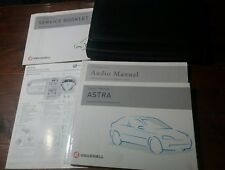 Vauxhall Astra 2004 Owner's Manual Book Pack