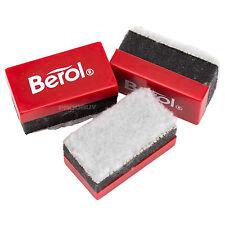 3 X Berol Mini Pizarra Drywipe gomas de borrar Lavable Pluma Marca Removedor de Placa de polvo