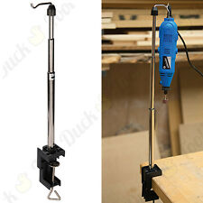 Rotary Tool Telescopic Hanging Stand Clamp Flexi Holder Silverline/Dremel/GMC