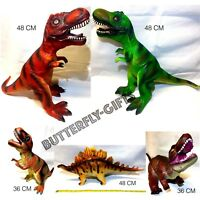 36/48cm Large Soft Foam Rubber Stuffed Dinosaur Play Toy Animals Action Figures