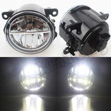 LH+RH LED Front Fog Light Lamp For MITSUBISHI L200 K74 Outlander ZG ZJ 2006-2019
