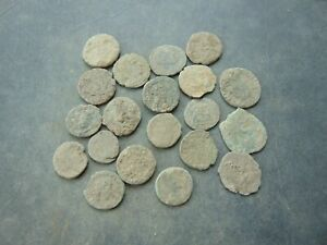 20 pieces to be cleaned Roman Follis LOT!