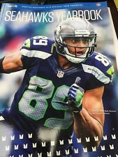 2018 SEATTLE SEAHAWKS OFFICIAL YEARBOOK RUSSELL WILSON DOUG BALDWIN NEW IN STOCK