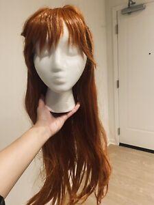 Asuka Langley Neon Genesis Evangelion Cosplay Wig
