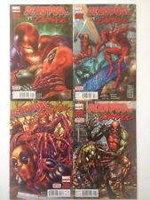 DEADPOOL VS CARNAGE #1-4 Complete Set, Marvel (2014) 1st Ptg NM