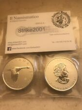 Canada 2 once 10 Dollari argento 2020 Oncia Oca Goose Royal  Mint Silver Oz