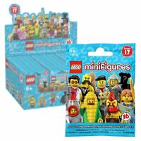 New 1 3 5 Or 10 LEGO Series 17 Minifigure Blind Bags Mystery Figure Official