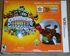 Nintendo 3DS Video Game - Skylanders Giants Portal Owners Pack (New)