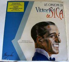 LE CANZONI DI VITTORIO DE SICA Box 2 Musicassette+ BOOK+ CD Picture