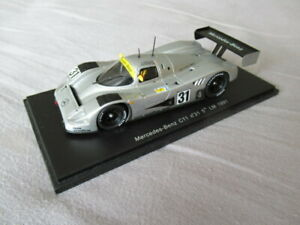 Spark 1:43 Model Mercedes C11 5th Le Mans 1991