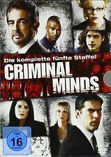 Criminal Minds - Die komplette fünfte Staffel (6 DVDs) vo... | DVD | Zustand gut