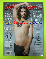 ROLLING STONE USA MAGAZINE 1106/2010 Russell Brand Bret Michaels Jack White Nocd
