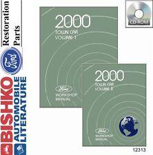 2000 Lincoln Town Car Shop Service Repair Manual CD Engine Drivetrain Electrical