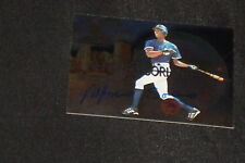ALFONSO SORIANO 2000 SKYBOX DOMINION SIGNED AUTOGRAPHED CARD #15 YANKEES