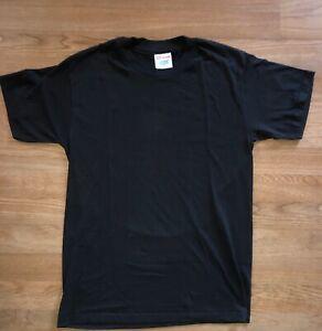 80s Blank Maroon Pocket Tee t-shirt Small