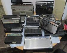 Lot 14 alte Radios Kassettenrecorder Transistorradios Grundig ITT Telefunken JVC