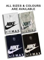 nike air max short sleeve crew neck  t-shirts for men - sale free post UK