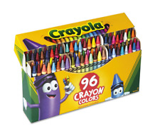 Crayola Classic Color Pack Crayons 96 Colors Box, FREE SHIPPING - NEW