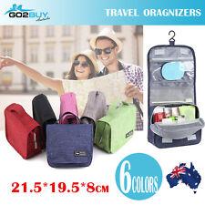 Waterproof Travel Cosmetic Toiletry Makeup Wash Hanging Bag Organizer Storage AU
