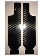 HONDA VFR800 1998-2001 Carbon Fiber Effect Fork Protectors Covers Decal