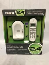 uniden cordless home telephones handsets 2 4 ghz handset frequency rh ebay com