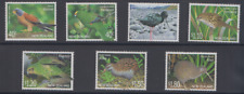 BIRD414 - NEW ZEALAND 2002 THREATENED BIRDS MINT NEVER HINGED
