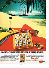 PUBLICITE ADVERTISING 034   1980   MICRO MECCANO   jeux jouets  BOGGLE