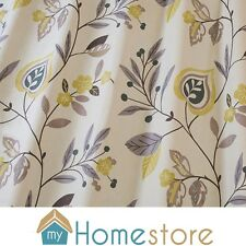 iLiv Swatch Box Fabric Curtain Blind Adara Printed Contemporary Green Grey White