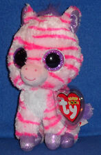TY BEANIE BOOS BOO'S - ZAZZY the ZEBRA - CLAIRE'S EXCLUSIVE - MINT TAGS