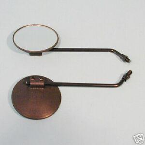 1x Spiegel schwarz für rechts oder links Honda CY 50, MB MT 50 80 NEU
