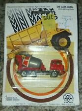 1981 Mini Macks Cement Mixer by Zee Toys (Unopened)