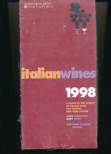 Italian Wines, 1998 (1998, Paperback)