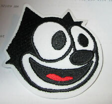 FELIX THE CAT COLLECTABLE RARE VINTAGE PATCH EMBROIDED  90'S METAL