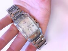 Pre Owned  Concord Carlton SS/Diamond/Chrono/MOP Mens Watch. GREAT PRICE!!
