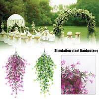 Violet Artificial Ivy Leaf Garland Vine Fake Foliage Flower Wall Hanging Basket