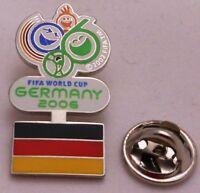 Pin / Anstecker + FIFA + Fußball Weltmeisterschaft 2006 + Germany + Flag (44) +