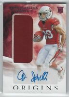 2019 ORIGINS ANDY ISABELLA PLAYER-WORN PATCH AUTO RC #138 ARIZONA CARDINALS