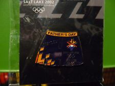 NEW OLYMPIC PIN SALT LAKE 2002 OFFICIAL LICENSED PRODUCT
