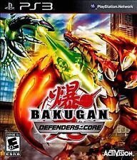 NEW/SEALED BAKUGAN DEFENDERS OF THE CORE PS3 VIDEO GAME PLAYSTATION 3