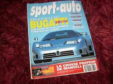 Magazine SPORT AUTO 05/1993  BUGATTI EB110 / LOTUS Esprit S4 / GP F1 Brésil //