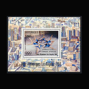 Central Africa, Sc #C302A, MNH, 1984, S/S, Olympics, Los Angeles, IDD-A