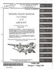 1989 A-7E Corsair II  Flight Manual Aircraft Manual Pilot's Handbook -CD