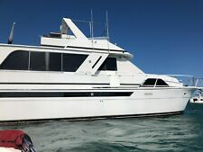 1988 Chris Craft Rare 501 50' Luxury Yacht Refurbished, Updated, Running Strong