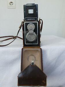 Zeiss Ikon Ikoflex 1A TLR mit Tessar 1:3.5/75mm # 640952 Tasche Objektivdeckel