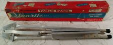 Vtg Stanrite Aluminum Table Easel Made in Usa! No.152 Retro Cool!