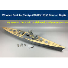 Wooden Deck for Tamiya 78015 1/350 Scale German Battleship Tirpitz Model
