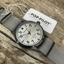 ⌚️ 🇩🇪 Pop-Pilot CPT Pilot Watch GERMAN QUALITY 🆕 NEW‼️ 🇩🇪⌚️